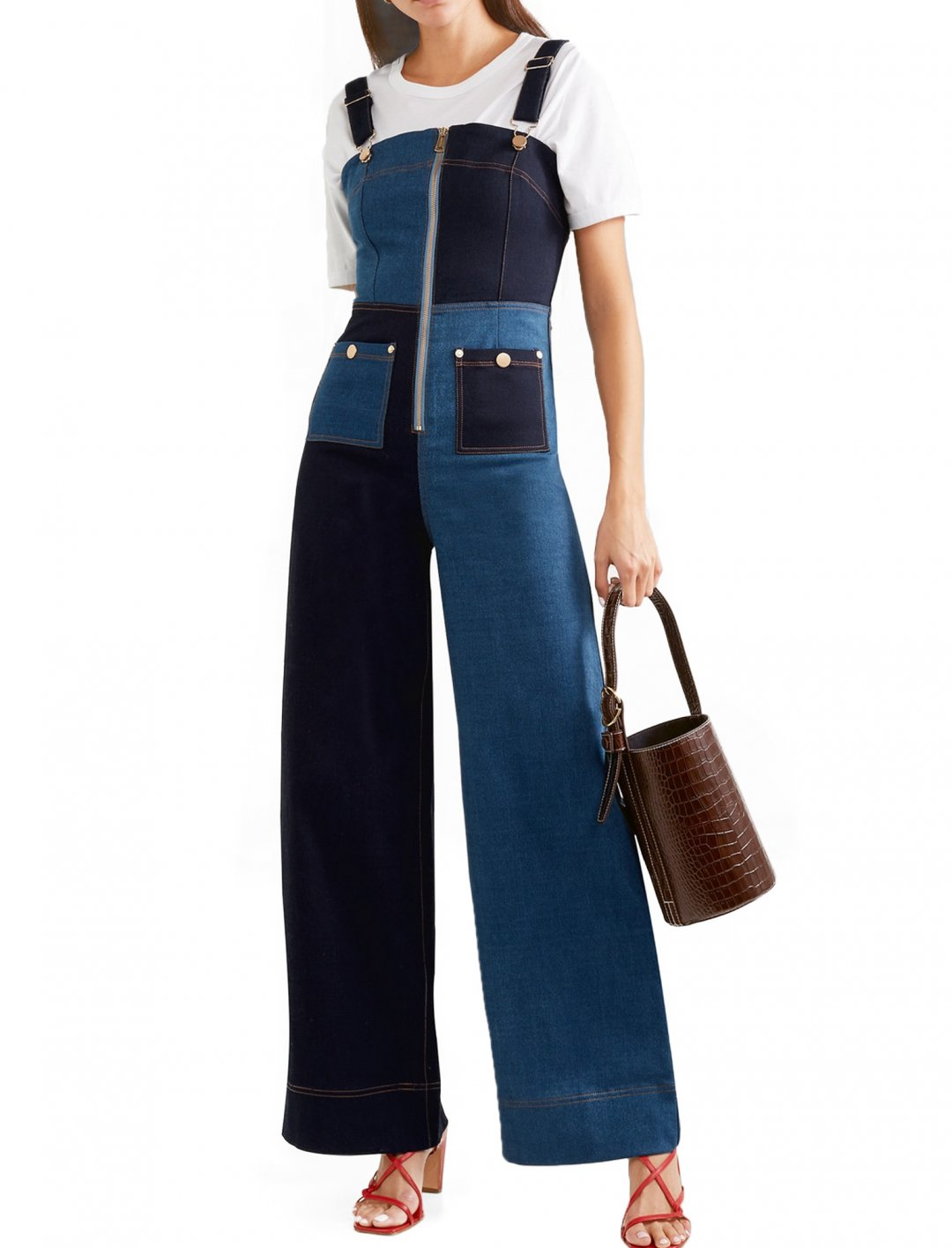 Amber Mark's Denim Overalls Clothing Alice McCall
