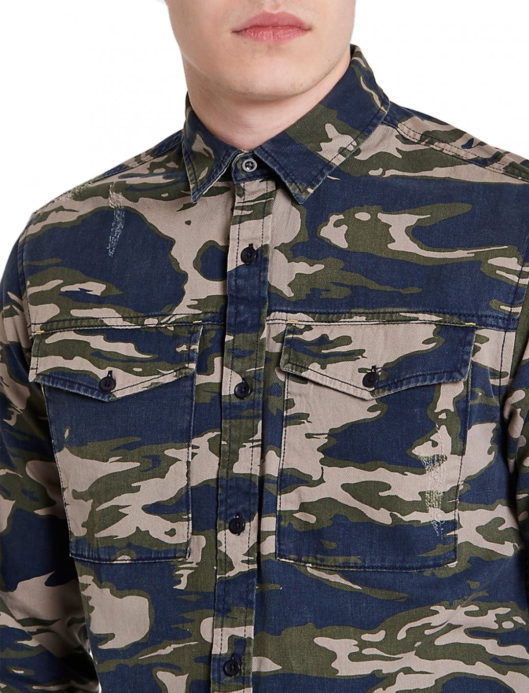 "Camo Print Shirt {""id"":5,""product_section_id"":1,""name"":""Clothing"",""order"":5} Jack & Jones"