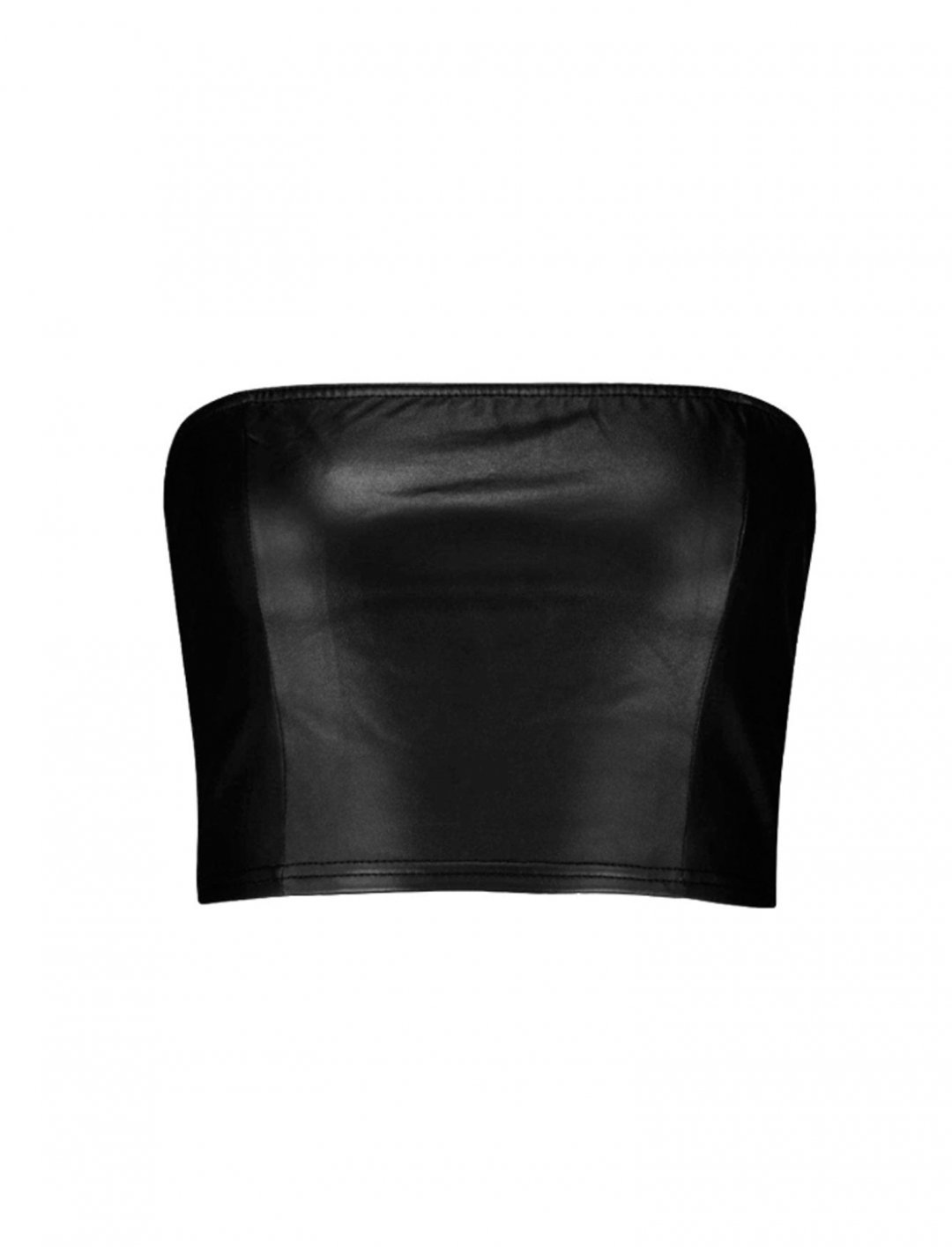 "Leather Bandeau {""id"":5,""product_section_id"":1,""name"":""Clothing"",""order"":5} boohoo"