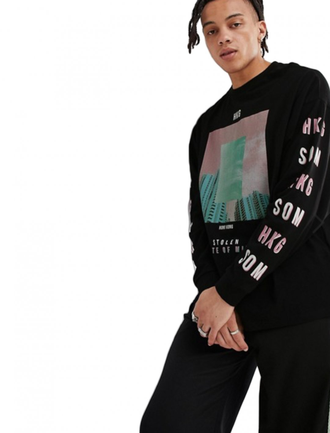 "Long Sleeve T-Shirt {""id"":5,""product_section_id"":1,""name"":""Clothing"",""order"":5} ASOS DESIGN"