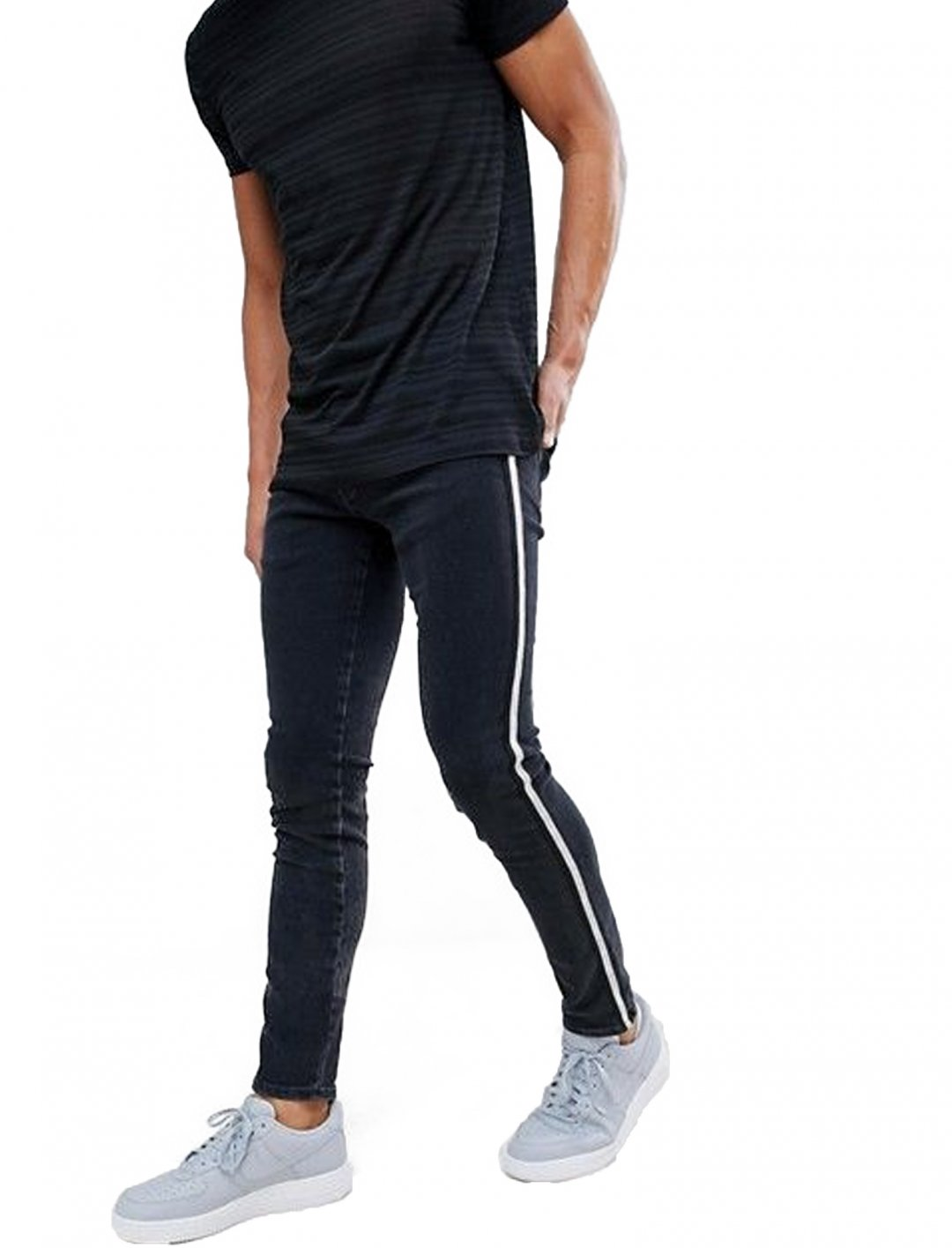 "Side Stripe Jeans {""id"":5,""product_section_id"":1,""name"":""Clothing"",""order"":5} River Island"