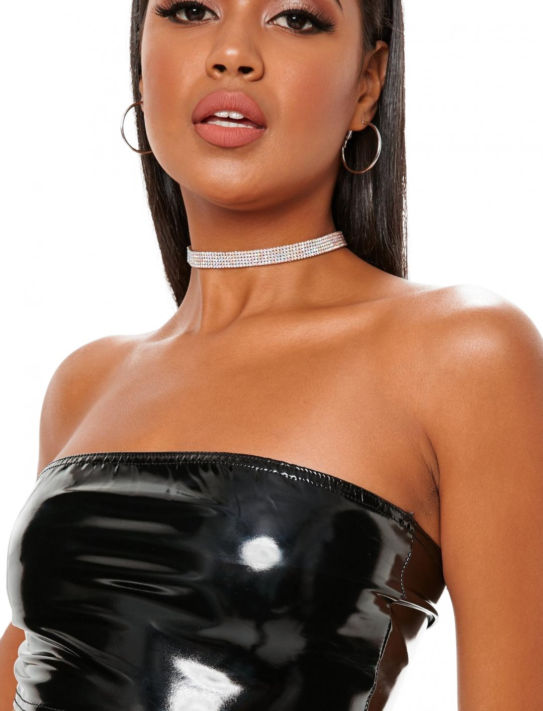 "Vinyl Bandeau {""id"":5,""product_section_id"":1,""name"":""Clothing"",""order"":5} Missguided"