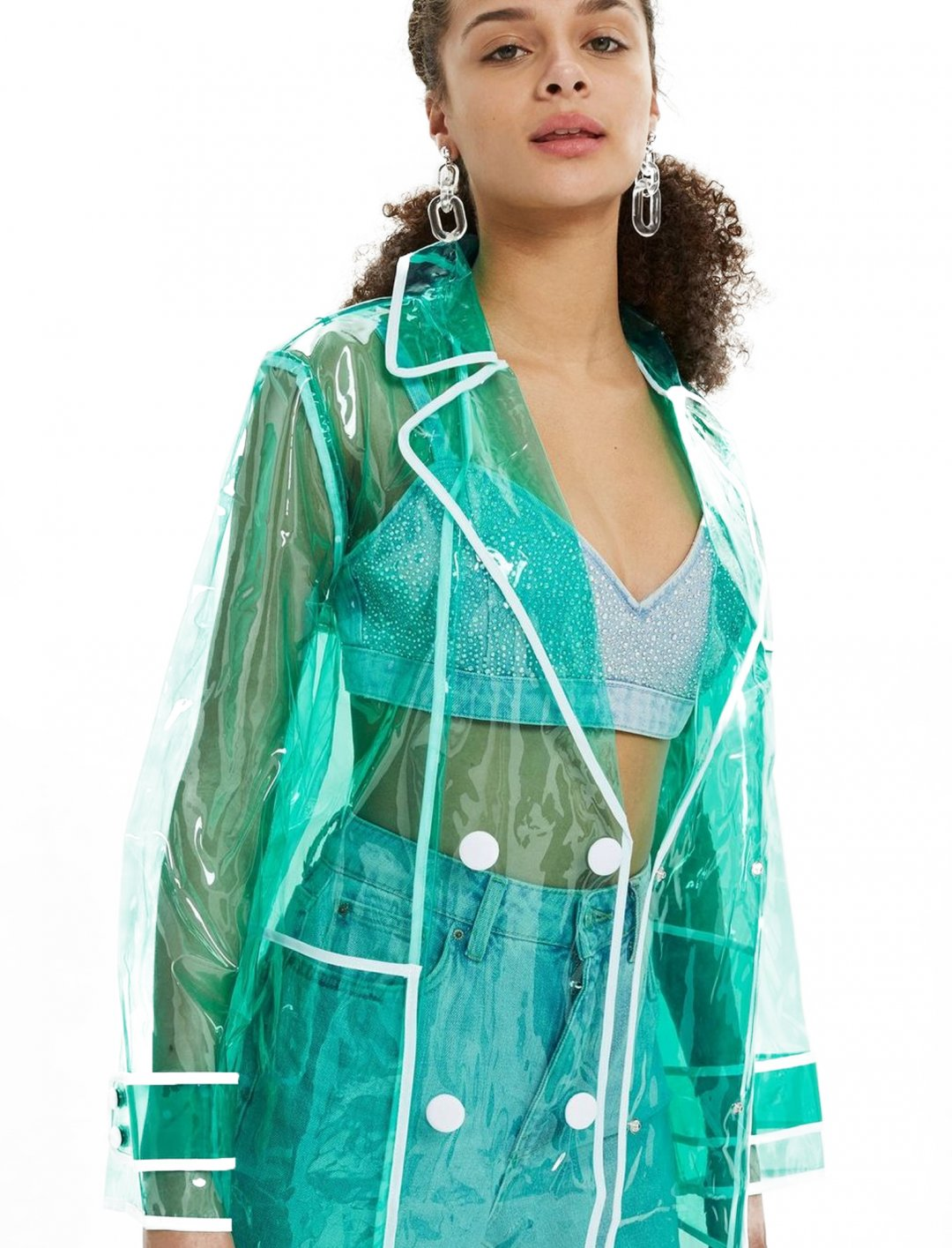 "Vinyl Trench Coat {""id"":5,""product_section_id"":1,""name"":""Clothing"",""order"":5} Topshop"
