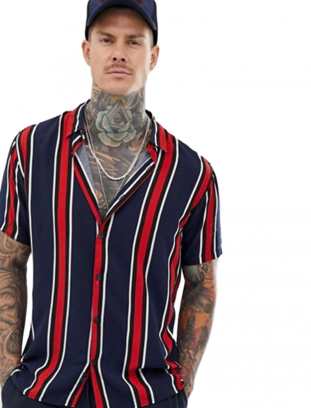 "Stripe Shirt {""id"":5,""product_section_id"":1,""name"":""Clothing"",""order"":5} Bershka"