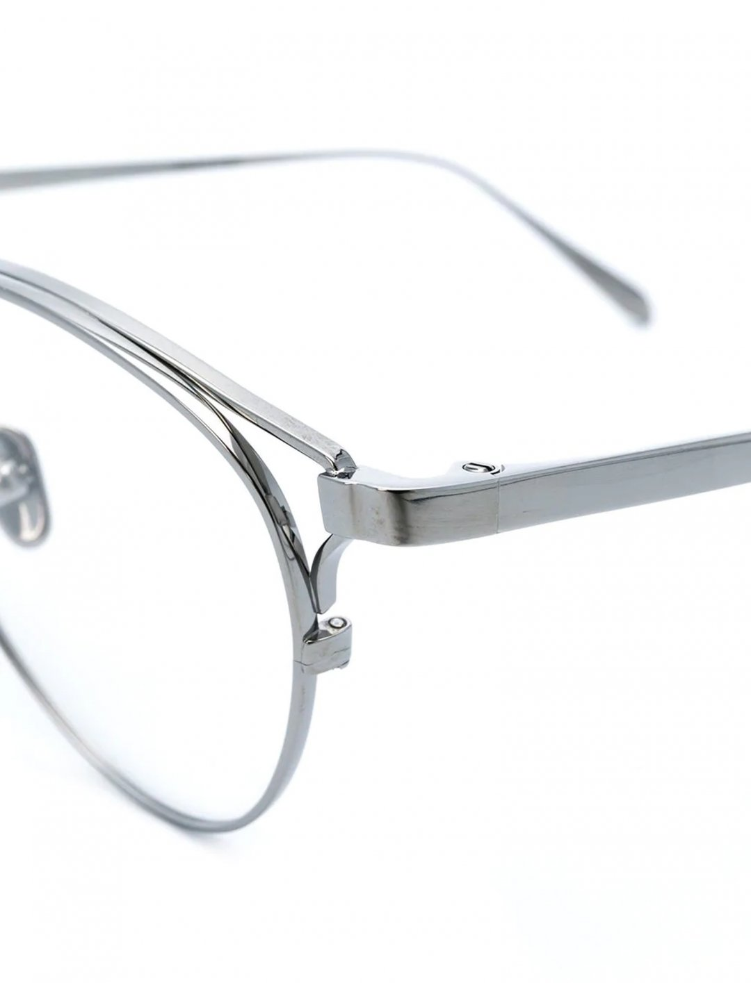 """Aviator Frame Glasses {""""id"""":16,""""product_section_id"""":1,""""name"""":""""Accessories"""",""""order"""":15} Linda Farrow"""