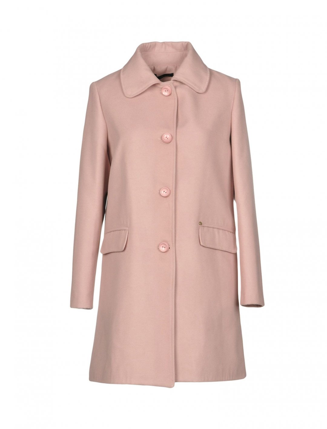 "Coat In Pink {""id"":5,""product_section_id"":1,""name"":""Clothing"",""order"":5} Giorgia & Johns"
