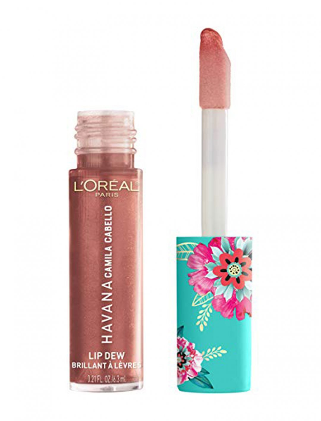 "Havana x Camila Cabello Lip Dew Lip Gloss {""id"":2,""product_section_id"":1,""name"":""Beauty"",""order"":2} L'Oréal Paris"