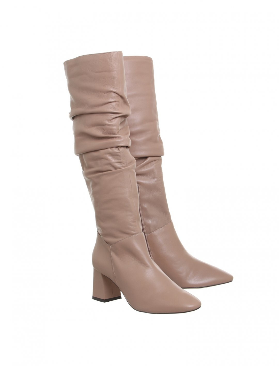 "Leather Knee Boots {""id"":12,""product_section_id"":1,""name"":""Shoes"",""order"":12} Office"