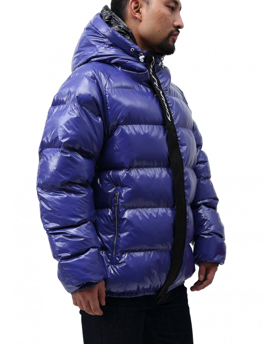 "Chris Brown's Puffer Jacket {""id"":5,""product_section_id"":1,""name"":""Clothing"",""order"":5} Black Pyramid Clothing"