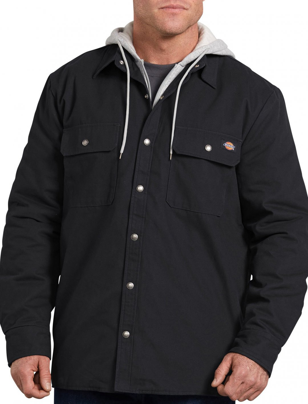 "Chris Brown's Shirt Jacket {""id"":5,""product_section_id"":1,""name"":""Clothing"",""order"":5} Dickies"