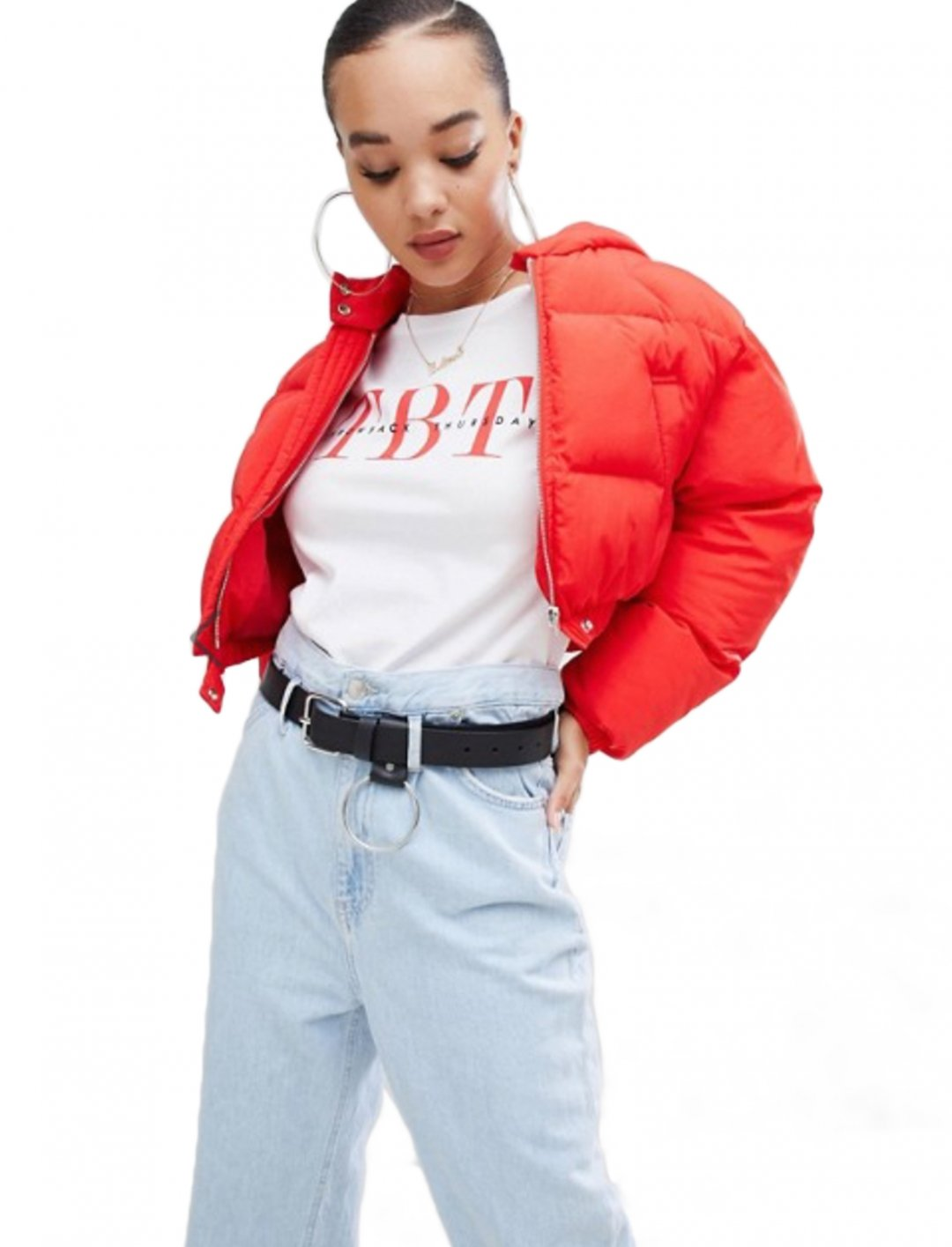 "Crop Padded Jacket {""id"":5,""product_section_id"":1,""name"":""Clothing"",""order"":5} boohoo"