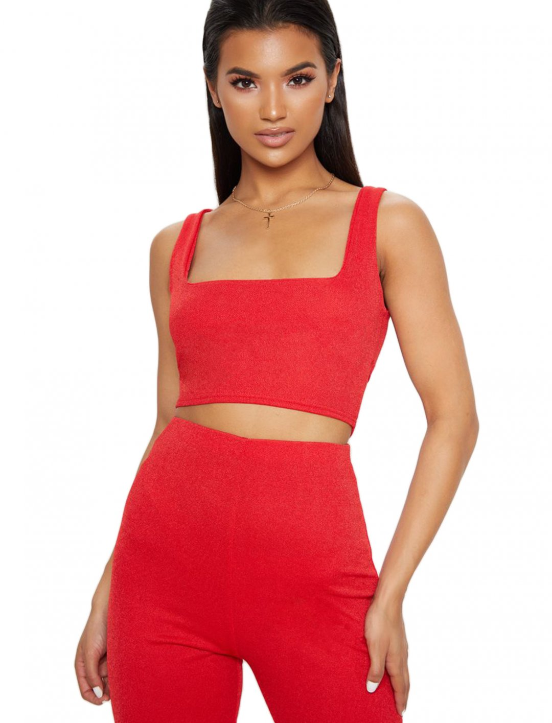 "Crop Top {""id"":5,""product_section_id"":1,""name"":""Clothing"",""order"":5} Pretty Little Thing"