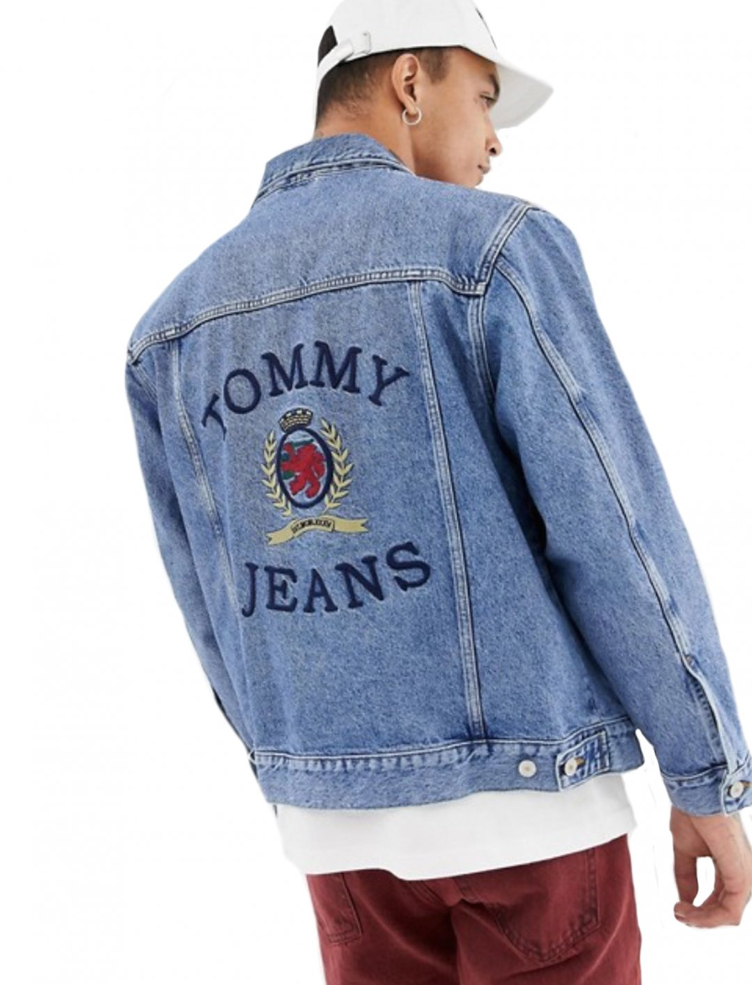 "Denim Jacket {""id"":5,""product_section_id"":1,""name"":""Clothing"",""order"":5} Tommy Jeans"
