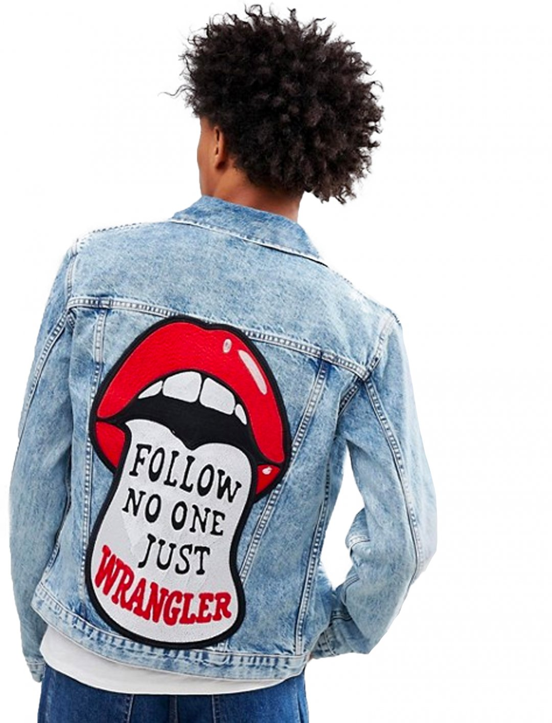 "Denim Jacket {""id"":5,""product_section_id"":1,""name"":""Clothing"",""order"":5} Wrangler"