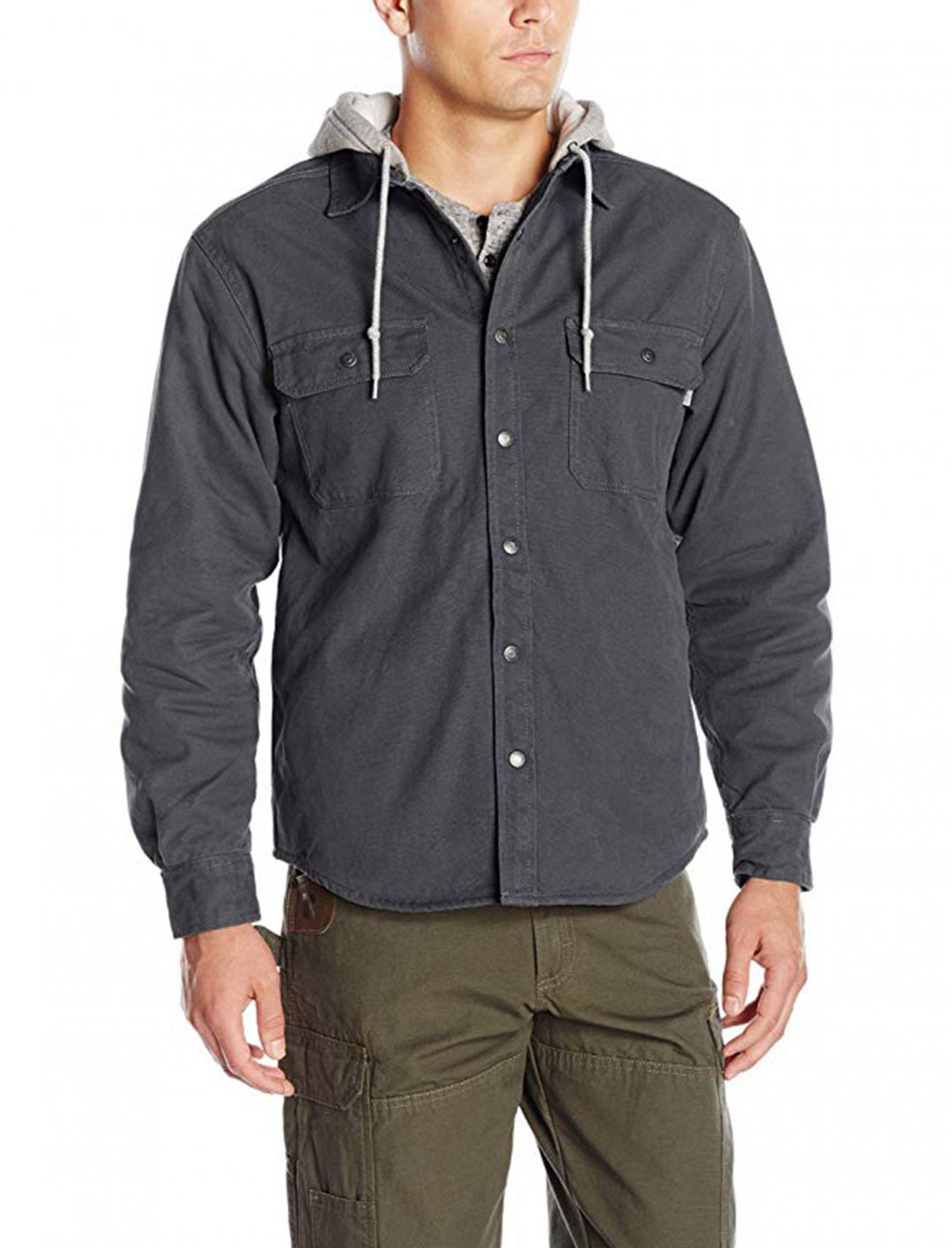 "Shirt Jacket {""id"":5,""product_section_id"":1,""name"":""Clothing"",""order"":5} Wolverine"
