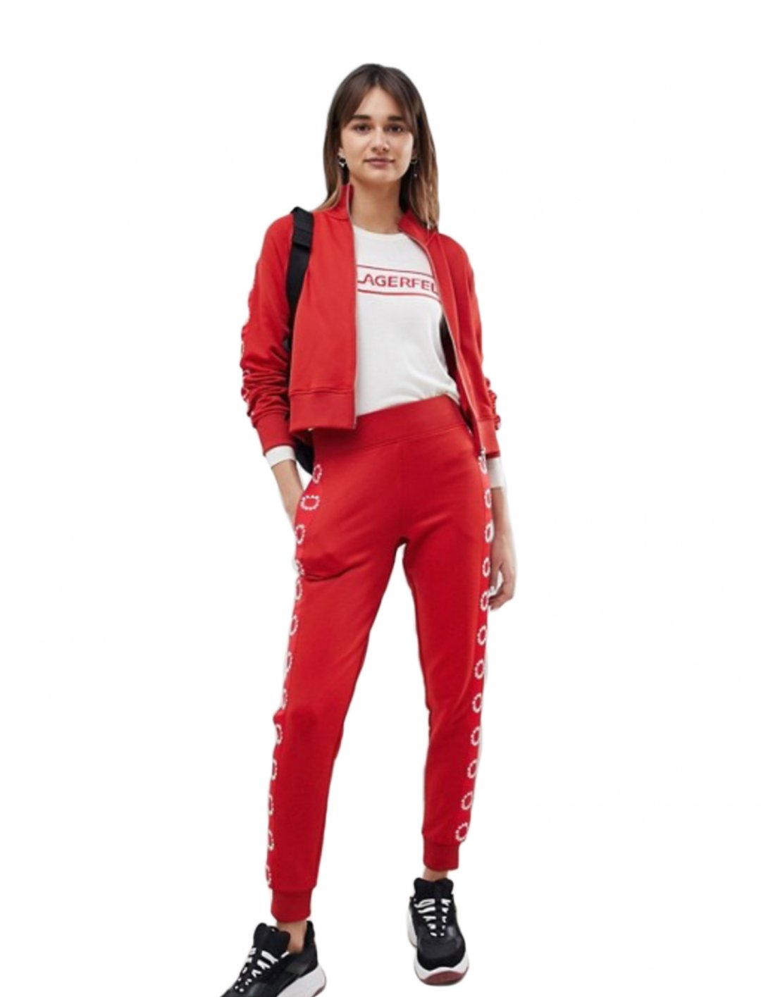 "Track Pants {""id"":5,""product_section_id"":1,""name"":""Clothing"",""order"":5} Karl Lagerfeld"
