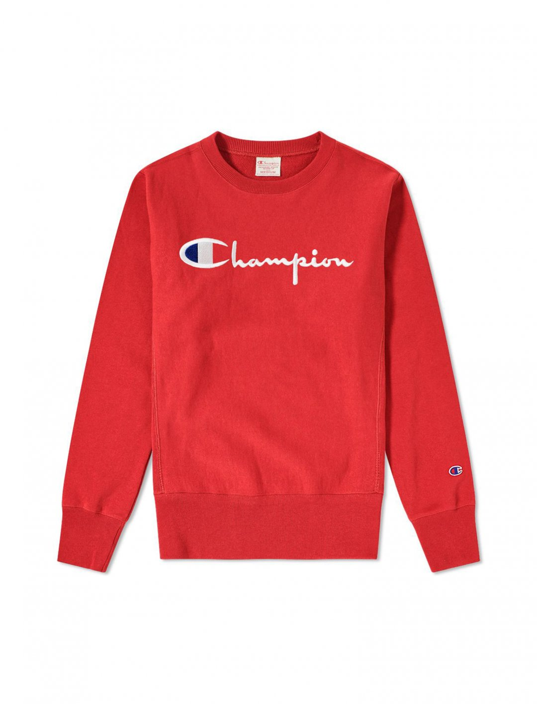 Sweatshirt, With Logo, In Red from Champion