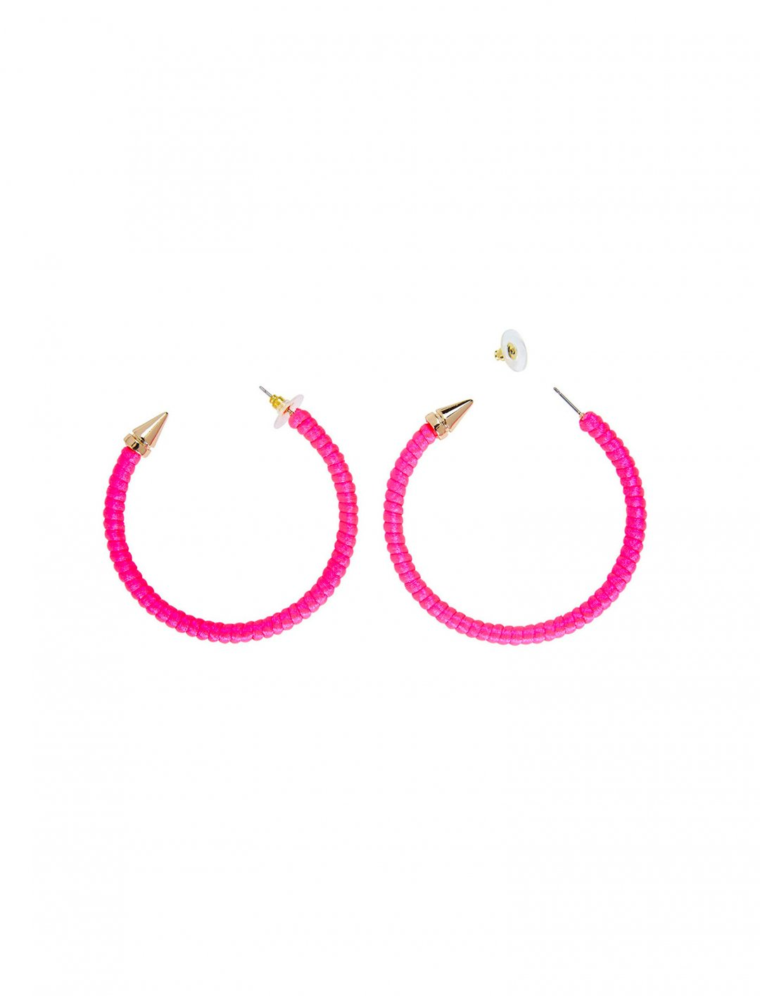 """Neon Hoop Earrings {""""id"""":16,""""product_section_id"""":1,""""name"""":""""Accessories"""",""""order"""":15} WIDMANN"""
