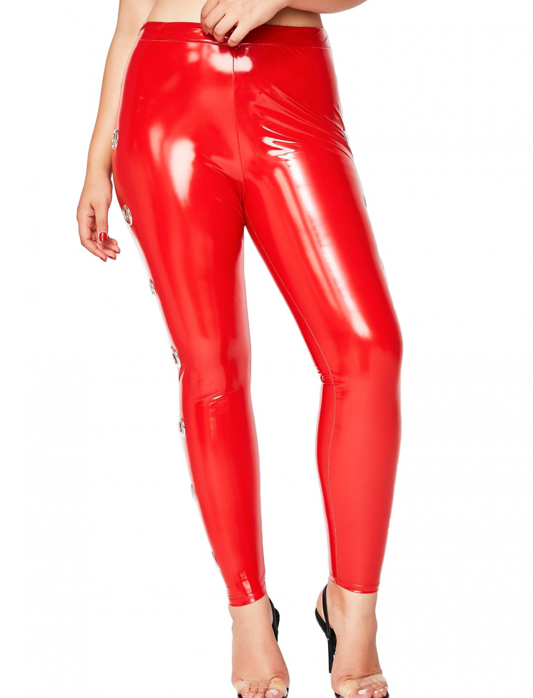 "Dinah Jane's Vinyl Pants {""id"":5,""product_section_id"":1,""name"":""Clothing"",""order"":5}"
