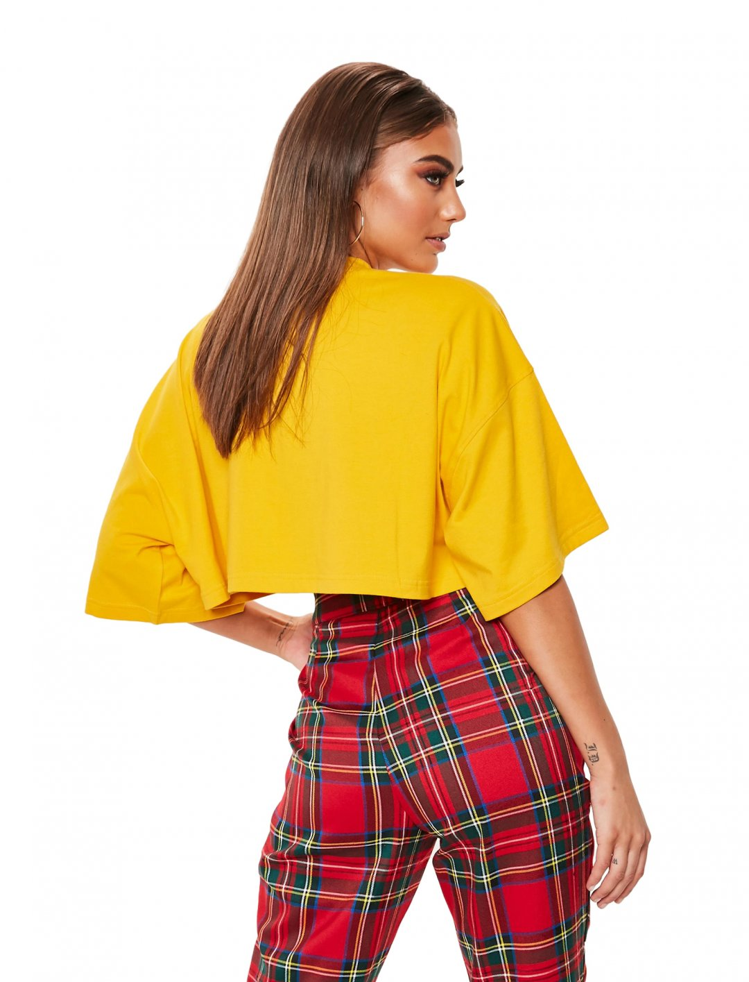"T-Shirt In Yellow {""id"":5,""product_section_id"":1,""name"":""Clothing"",""order"":5} Missguided"