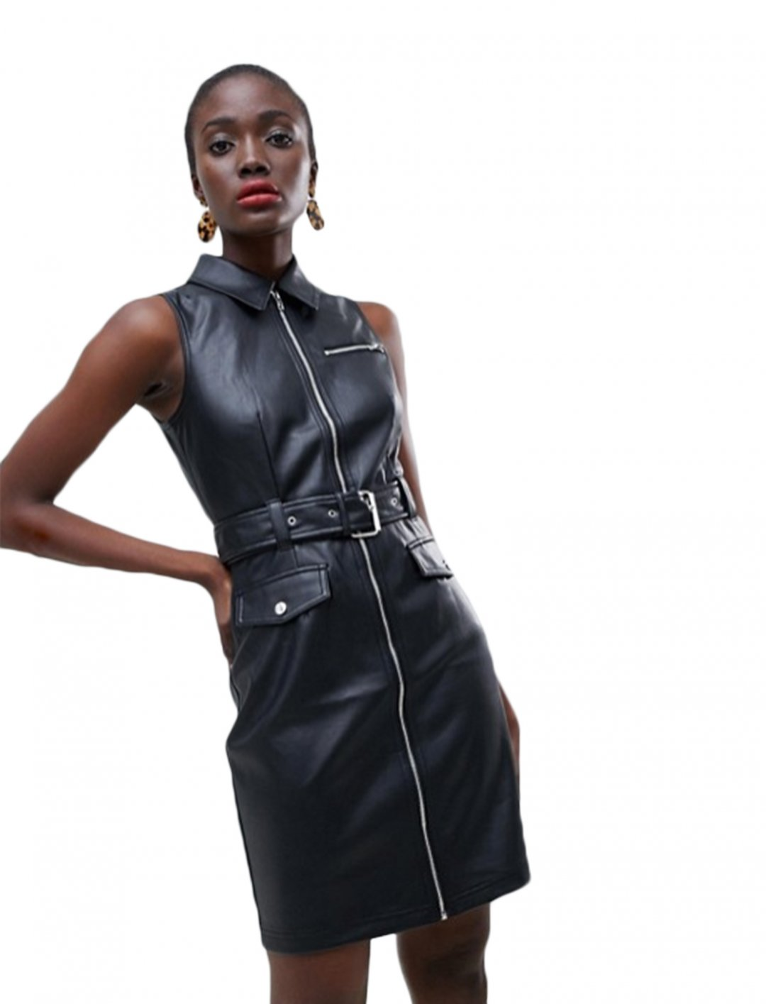 "Leather Mini Dress {""id"":5,""product_section_id"":1,""name"":""Clothing"",""order"":5} Warehouse"