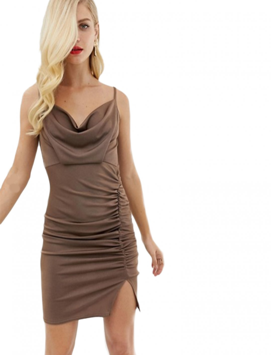 "Ruched Dress {""id"":5,""product_section_id"":1,""name"":""Clothing"",""order"":5} ASOS DESIGN"
