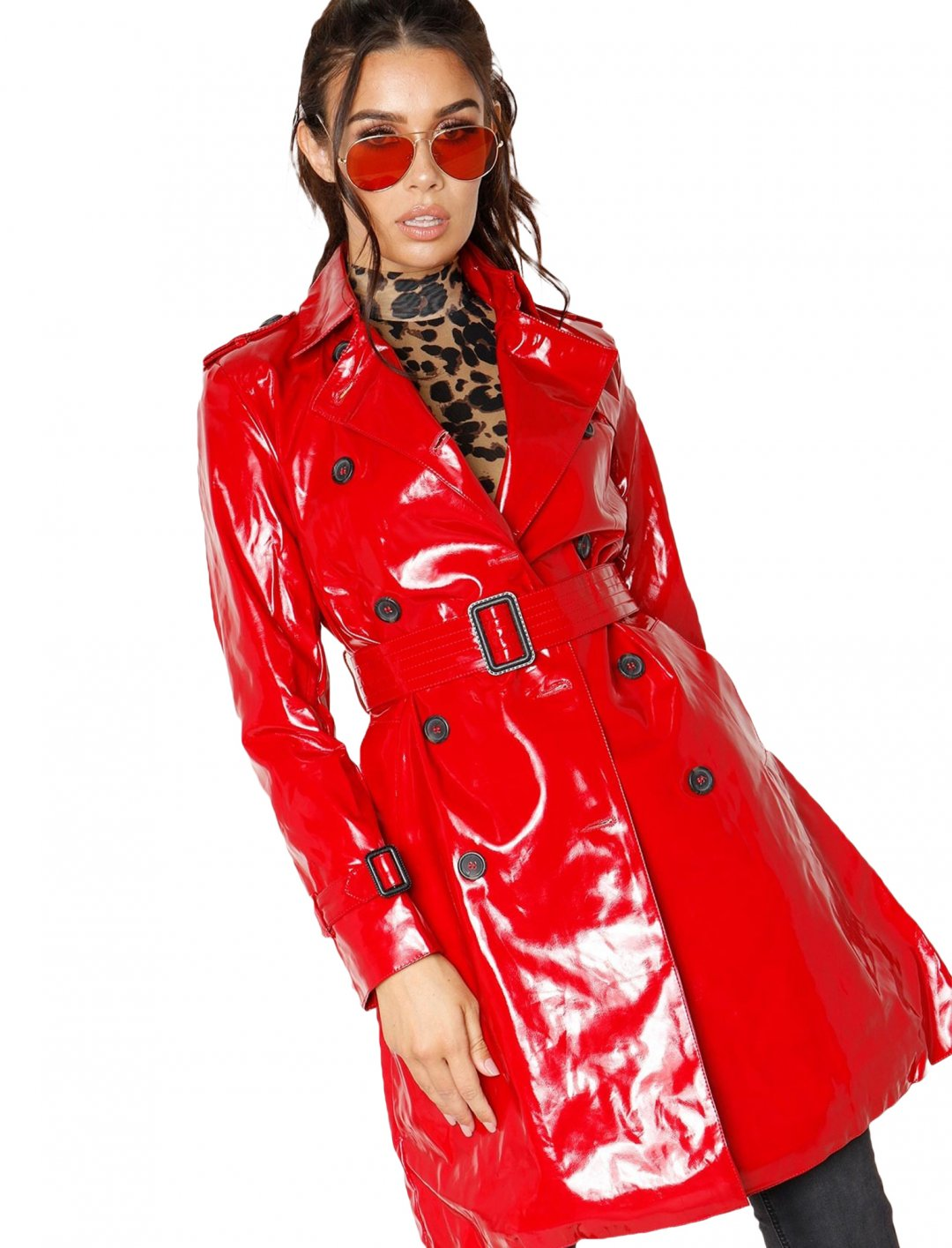 "Vinyl Trench Coat {""id"":5,""product_section_id"":1,""name"":""Clothing"",""order"":5} Missy Empire"