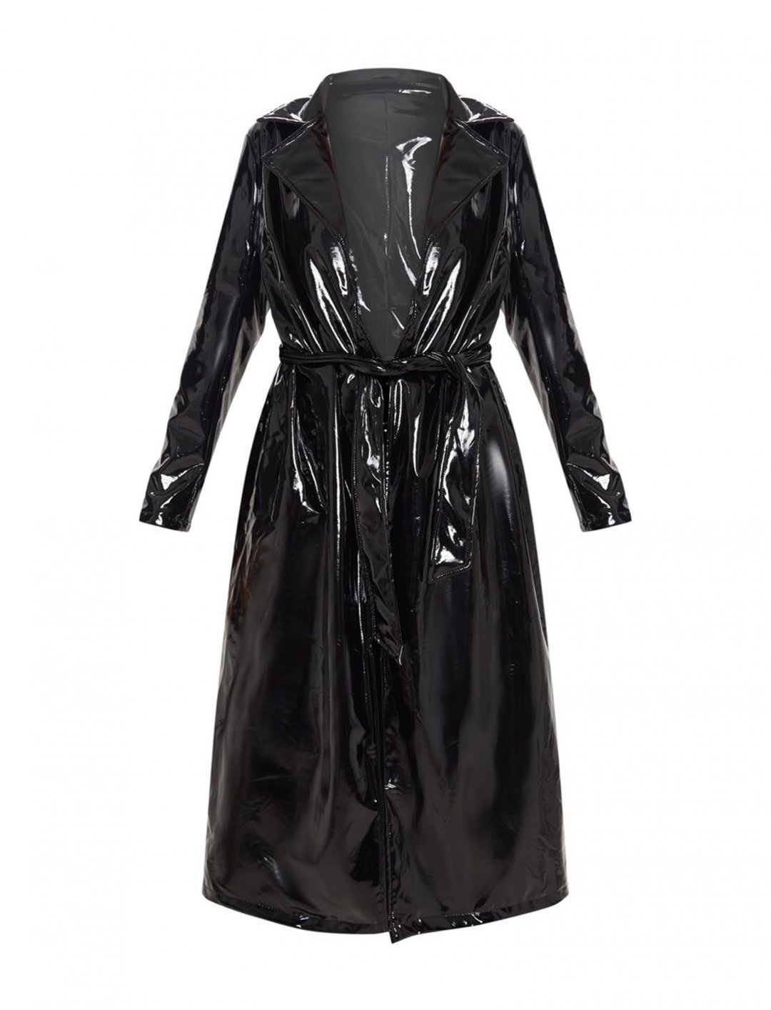 "Vinyl Trench Coat {""id"":5,""product_section_id"":1,""name"":""Clothing"",""order"":5} Pretty Little Thing"