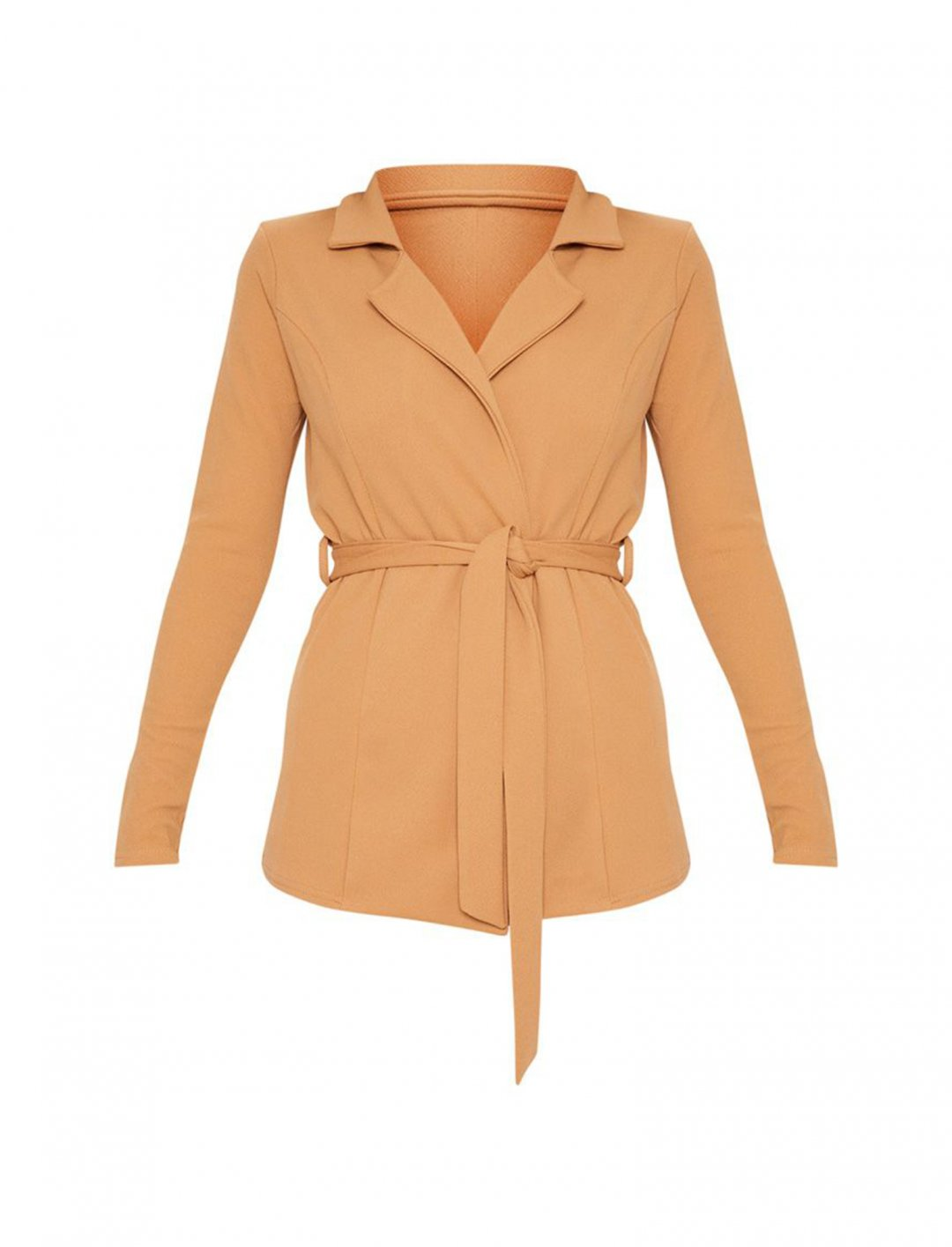 Yasmin's Belted Blazer Clothing Pretty Little Thing