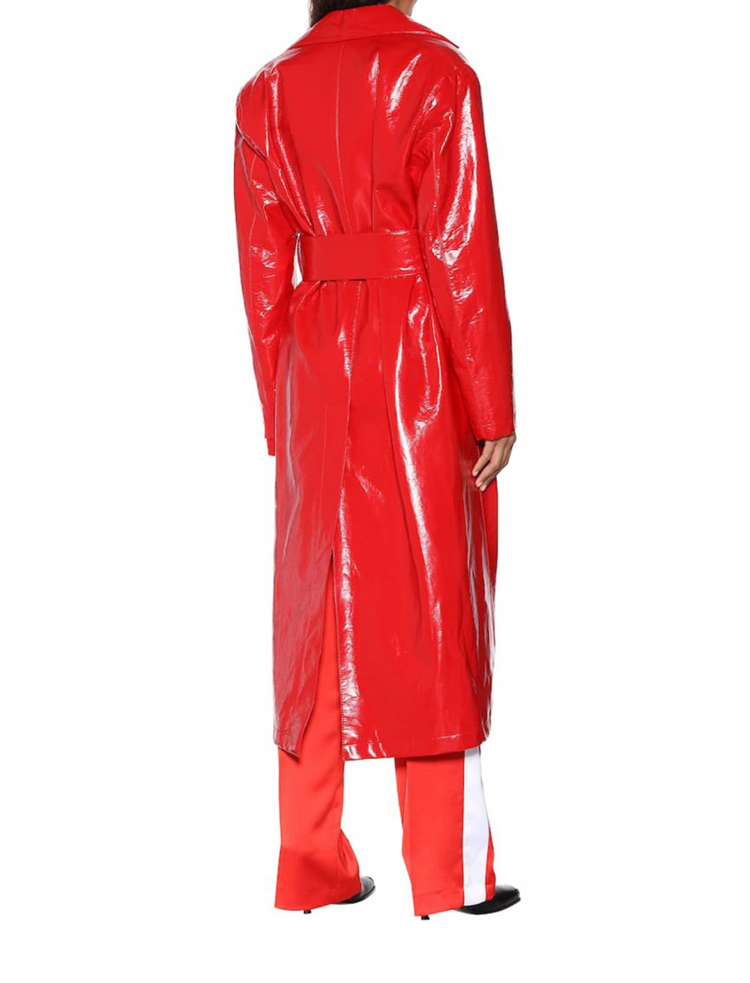 "Yasmin's Vinyl Trench Coat {""id"":5,""product_section_id"":1,""name"":""Clothing"",""order"":5} MSGM"