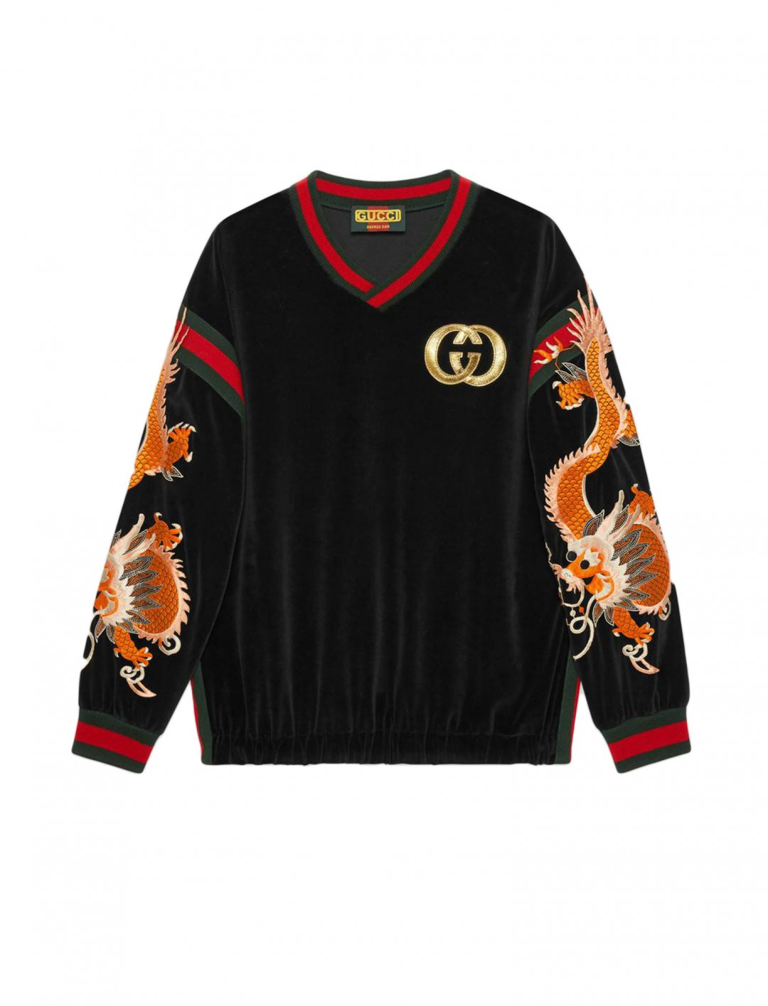 "French Montana's Sweatshirt {""id"":5,""product_section_id"":1,""name"":""Clothing"",""order"":5} Gucci-Dapper Dan"