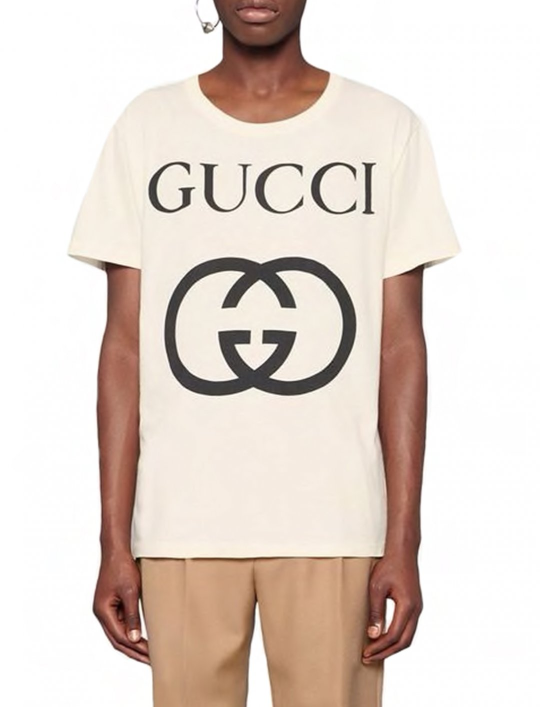 "French Montana's T-Shirt {""id"":5,""product_section_id"":1,""name"":""Clothing"",""order"":5} Gucci"
