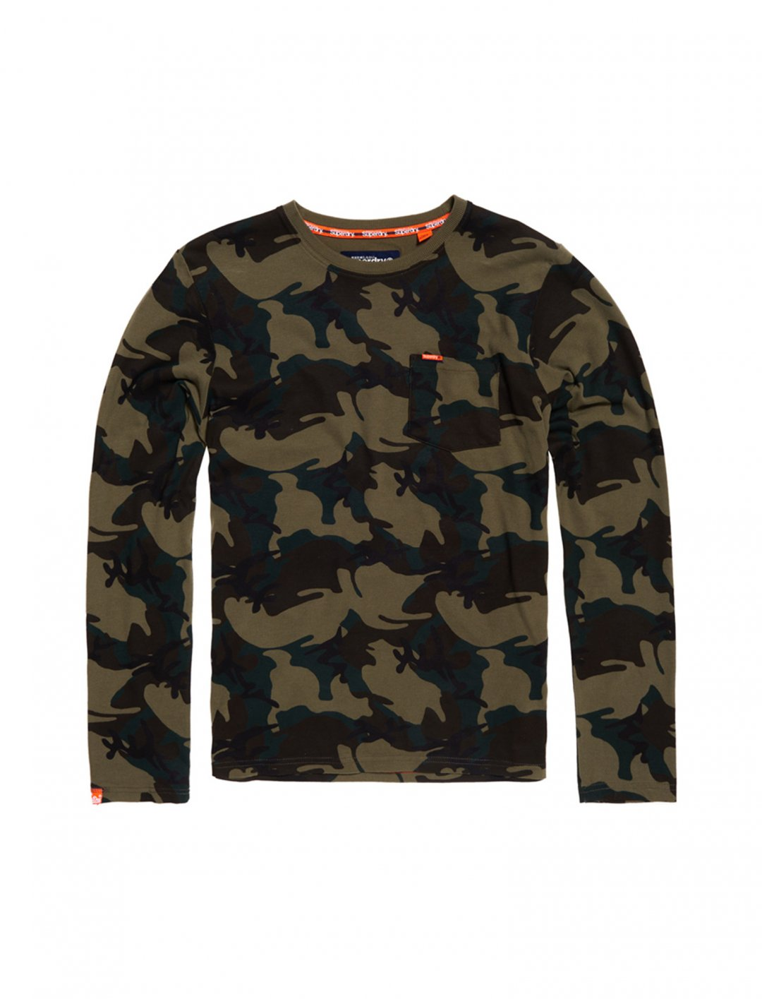 "Long Sleeve Top {""id"":5,""product_section_id"":1,""name"":""Clothing"",""order"":5} Superdry"