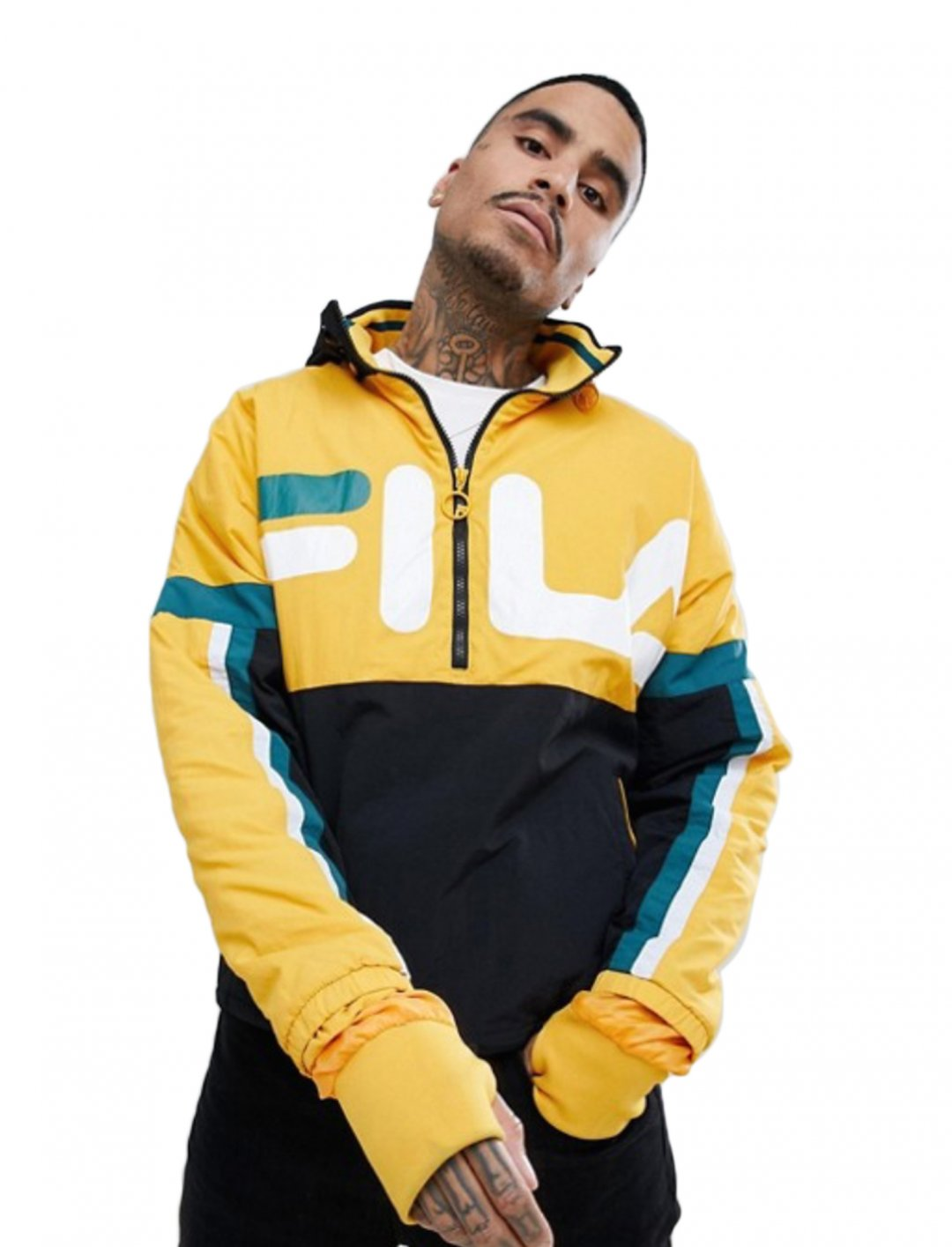 "Overhead Track Jacket {""id"":5,""product_section_id"":1,""name"":""Clothing"",""order"":5} FILA"