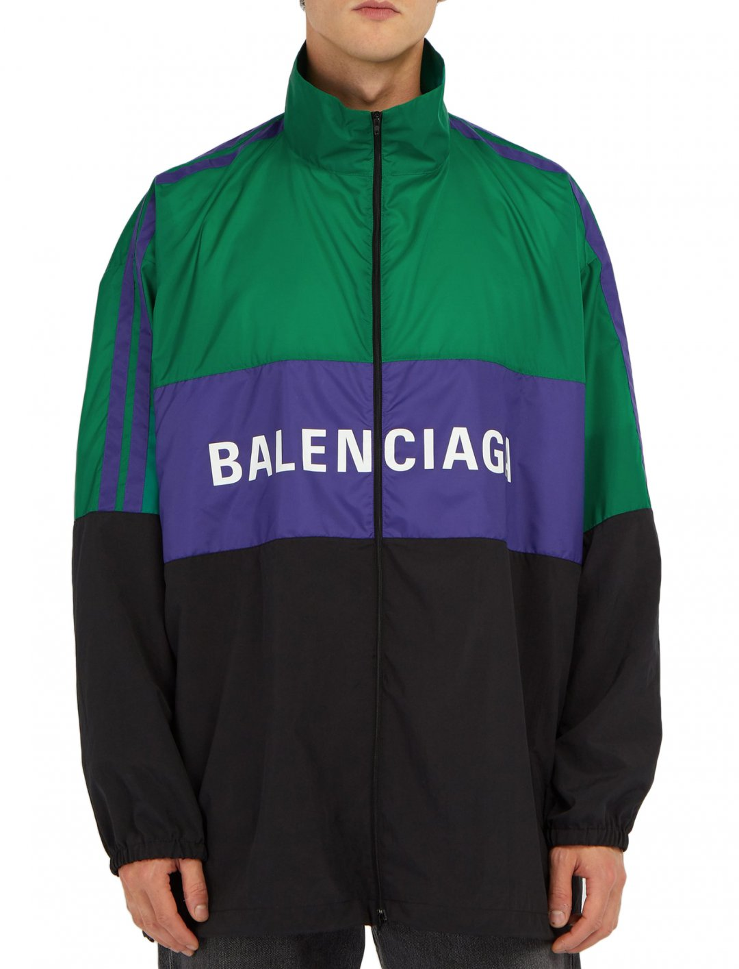 "Track Jacket {""id"":5,""product_section_id"":1,""name"":""Clothing"",""order"":5} Balenciaga"