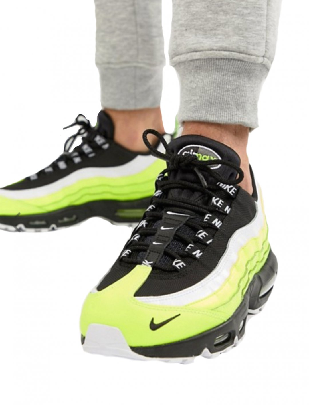 "Air Max 95 Trainers {""id"":12,""product_section_id"":1,""name"":""Shoes"",""order"":12} Nike"