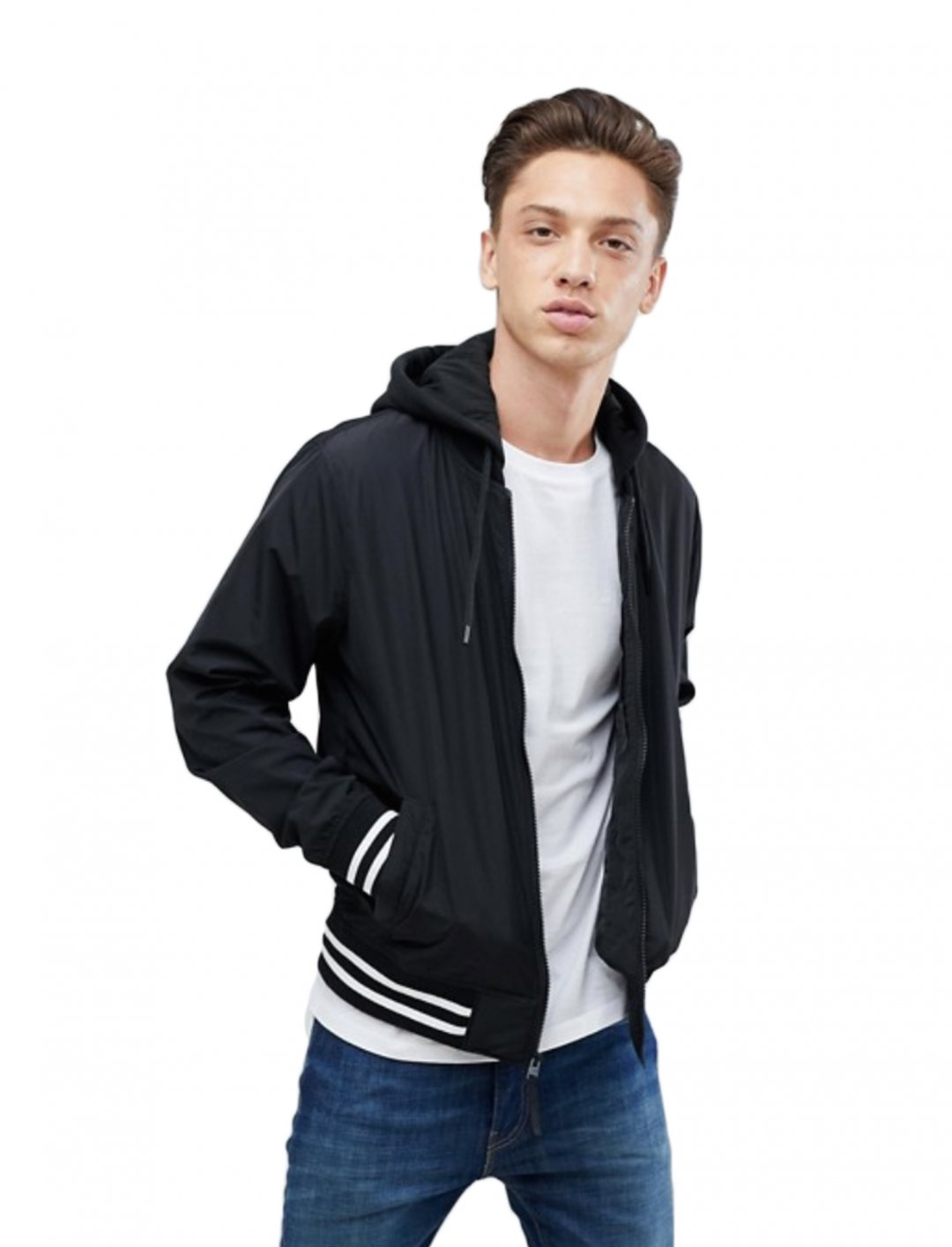 """Bomber Jacket {""""id"""":5,""""product_section_id"""":1,""""name"""":""""Clothing"""",""""order"""":5} Hollister"""