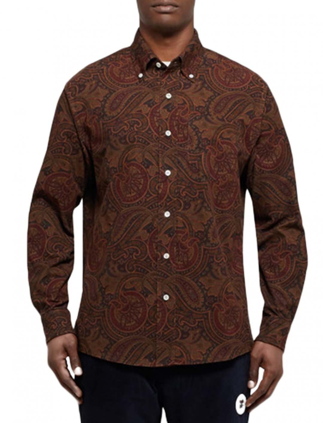 """Gashi's Shirt {""""id"""":5,""""product_section_id"""":1,""""name"""":""""Clothing"""",""""order"""":5} Aime Leon Dore"""