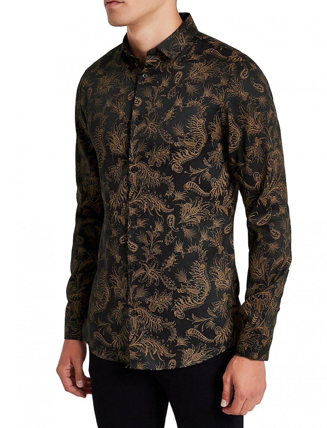 """Paisley Shirt {""""id"""":5,""""product_section_id"""":1,""""name"""":""""Clothing"""",""""order"""":5} River Island"""