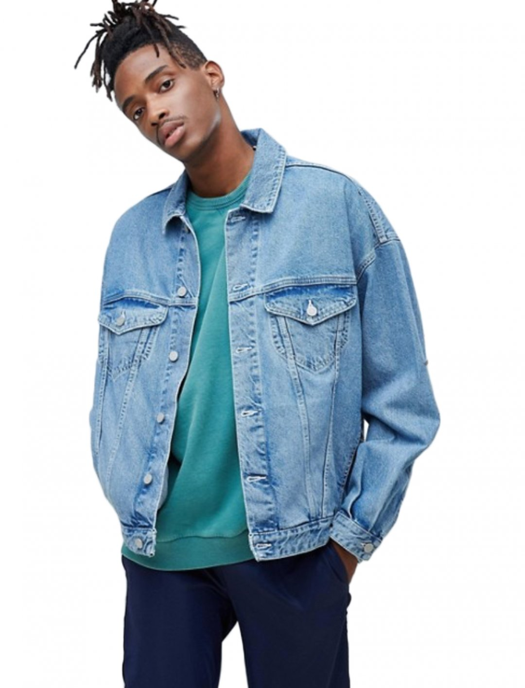 "Denim Jacket {""id"":5,""product_section_id"":1,""name"":""Clothing"",""order"":5} ASOS DESIGN"