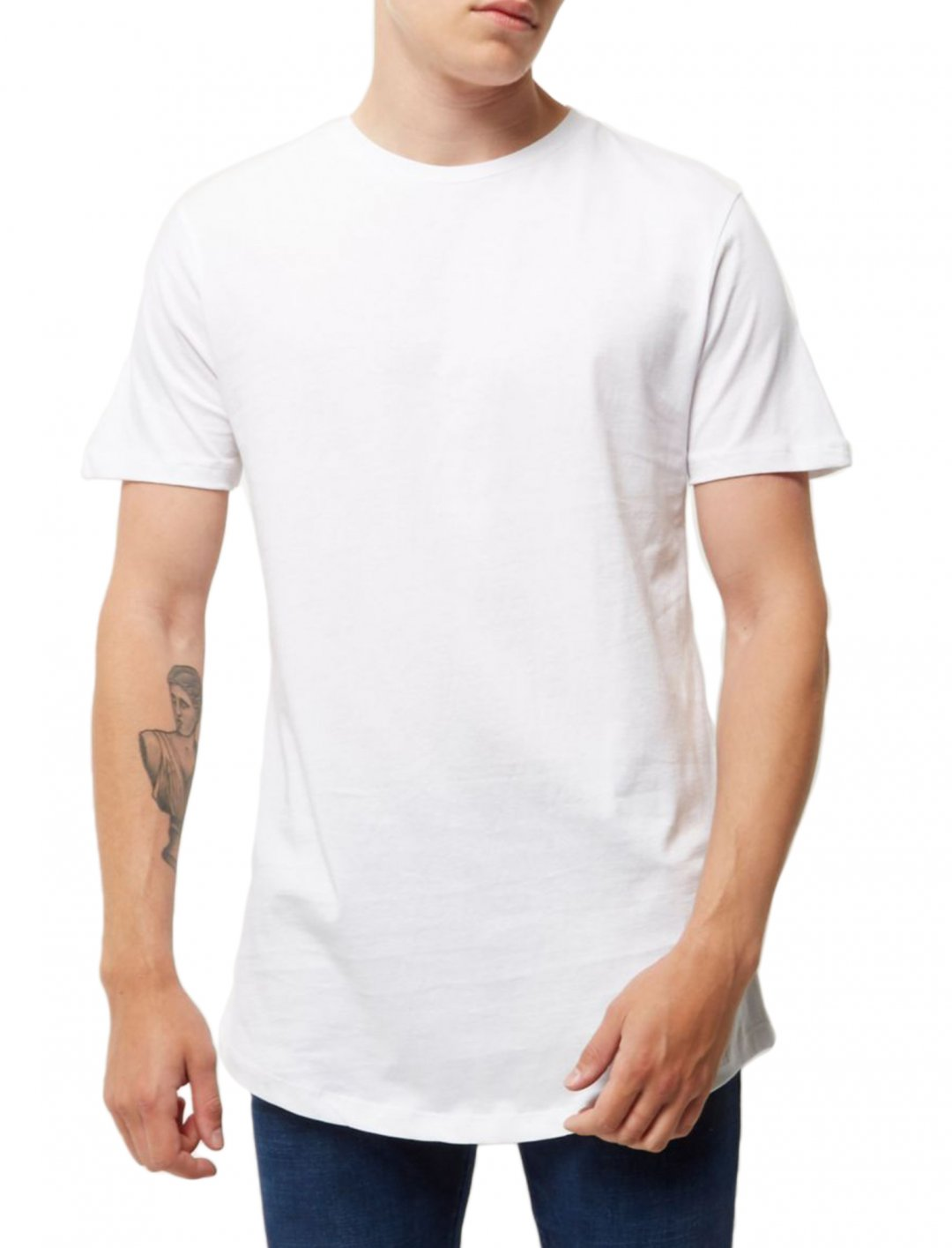 "T-Shirt In White {""id"":5,""product_section_id"":1,""name"":""Clothing"",""order"":5} River Island"