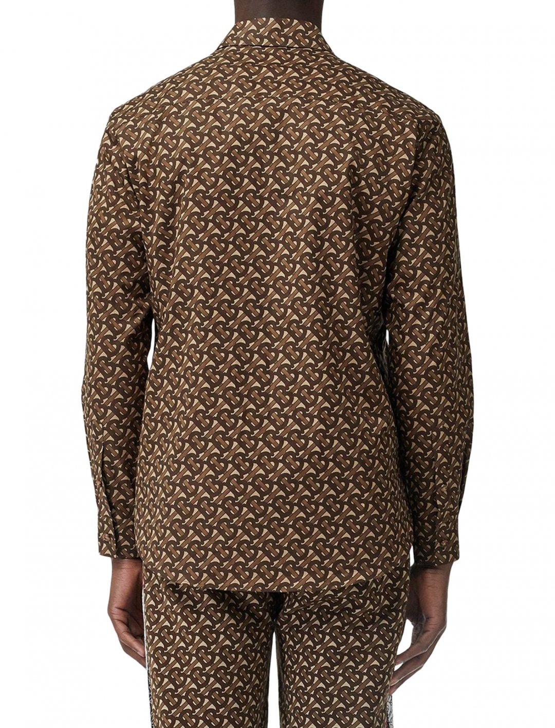 Brown Cotton Shirt Clothing Burberry