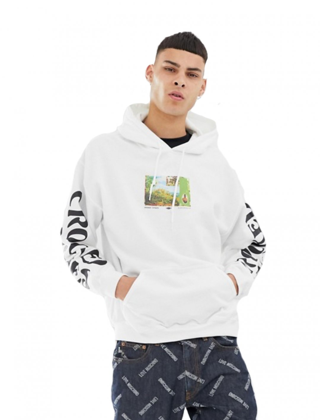 "Oversized Hoodie {""id"":5,""product_section_id"":1,""name"":""Clothing"",""order"":5} Crooked Tongues"