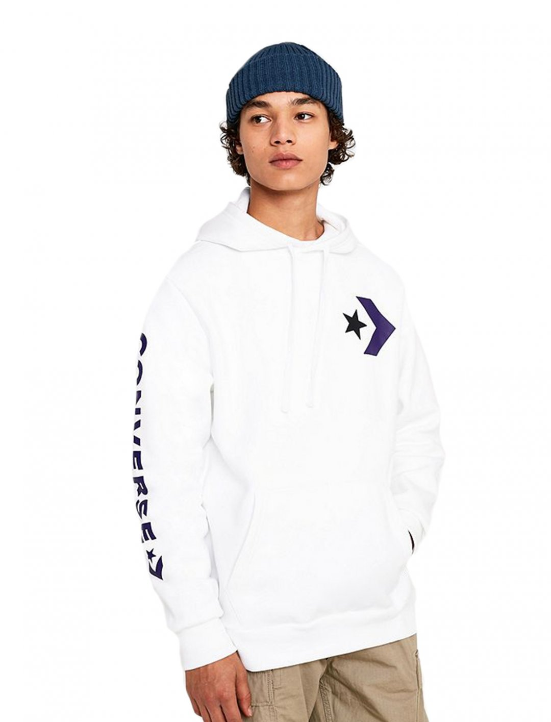 "White Hoodie {""id"":5,""product_section_id"":1,""name"":""Clothing"",""order"":5} Converse"