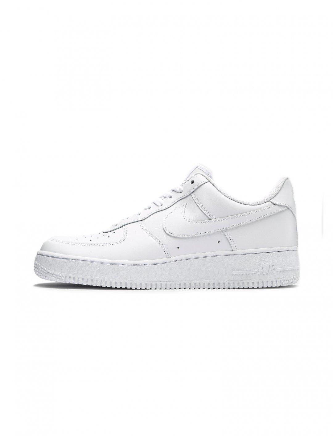 White Leather Trainerss Shoes Nike