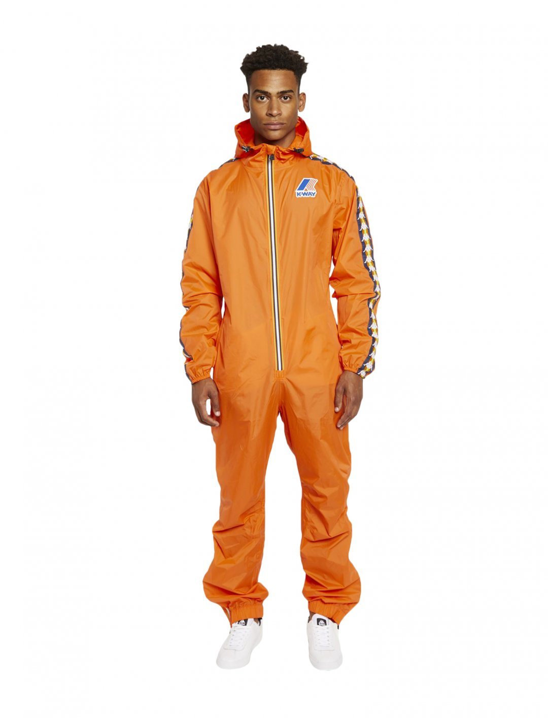 "HEX' Jumpsuit {""id"":5,""product_section_id"":1,""name"":""Clothing"",""order"":5} K-Way x Kappa"