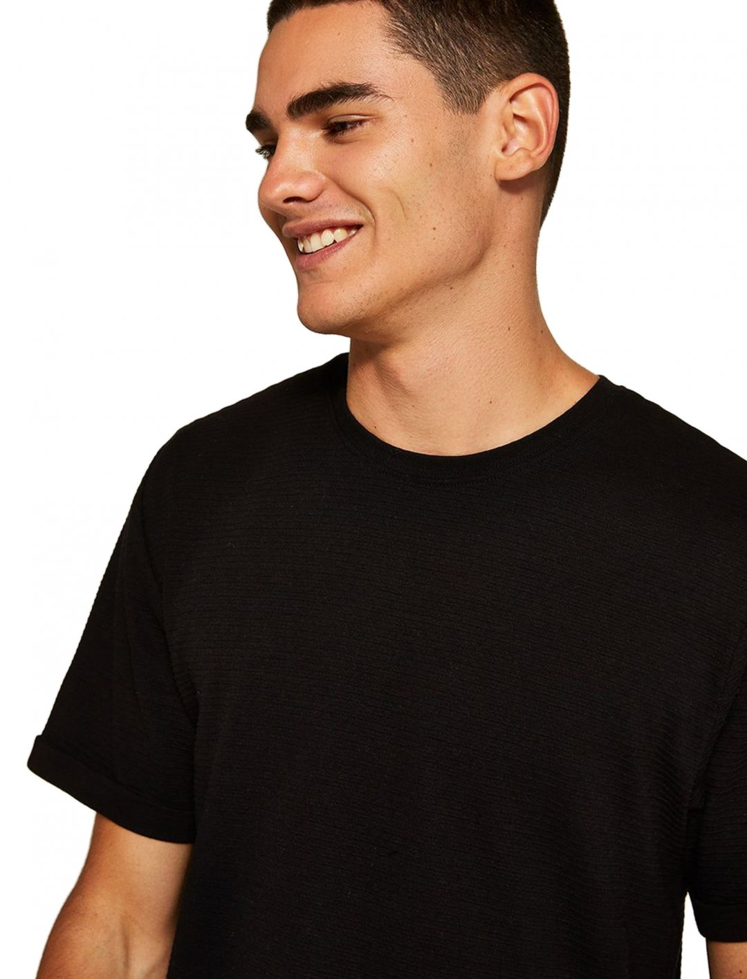 """HEX' T-shirt In Black {""""id"""":5,""""product_section_id"""":1,""""name"""":""""Clothing"""",""""order"""":5} Topman"""