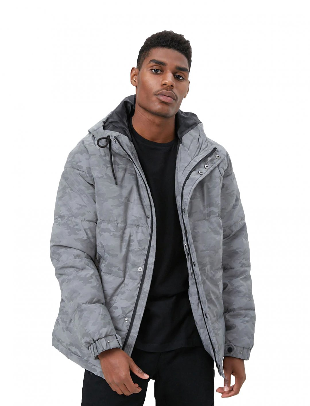 """Reflective Jacket {""""id"""":5,""""product_section_id"""":1,""""name"""":""""Clothing"""",""""order"""":5} Forever 21"""