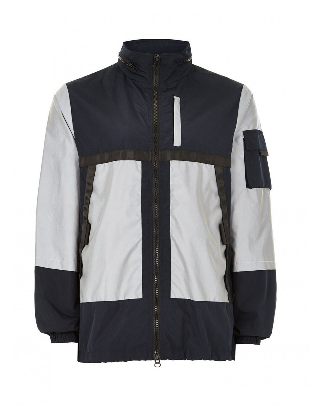 """Reflective Jacket {""""id"""":5,""""product_section_id"""":1,""""name"""":""""Clothing"""",""""order"""":5} Topman"""