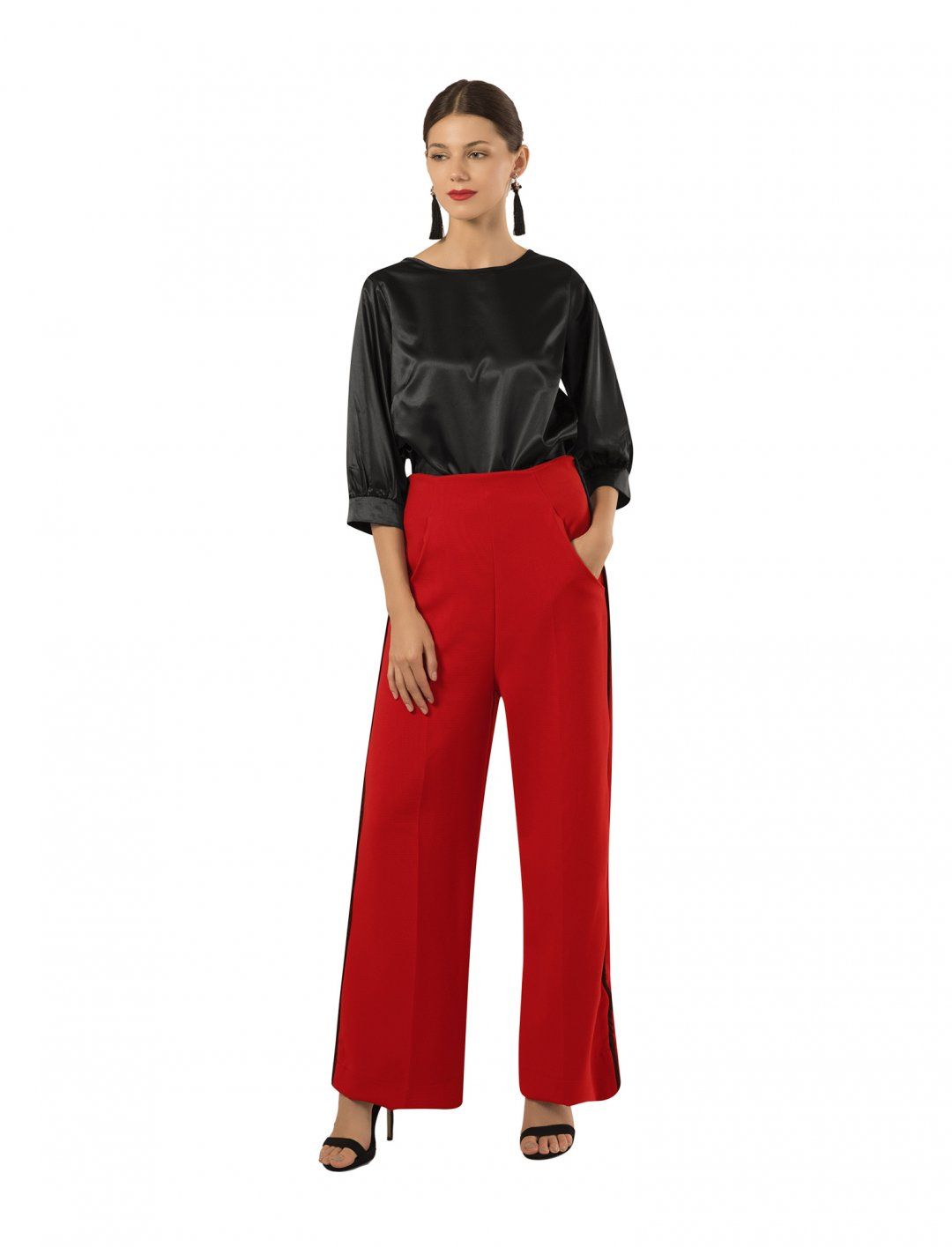 """Trousers In Red {""""id"""":5,""""product_section_id"""":1,""""name"""":""""Clothing"""",""""order"""":5} Closet London"""